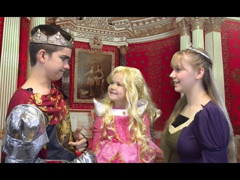 SLEEPING BEAUTY - BEST KIDS FAIRY TALE MOVIE! SO FUNNY!! TOP STORY FOR CHILDREN!