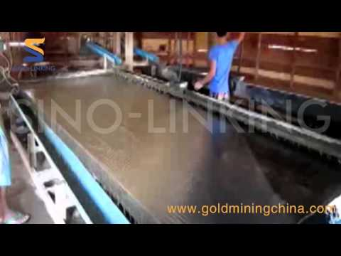 5-Sinolinking Gold Shaker table working at site