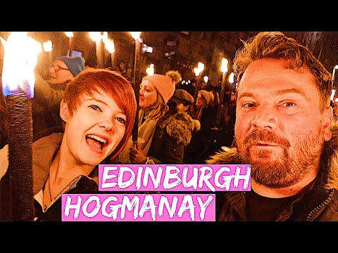 Scottish New Years Traditional Hogmanay Party