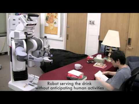 Robot Sees Into The Future To Pour You A Beer