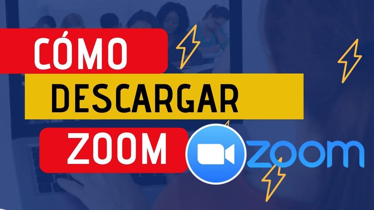 Como Descargar E Instalar Zoom Muy Fácil 2019 Youtube