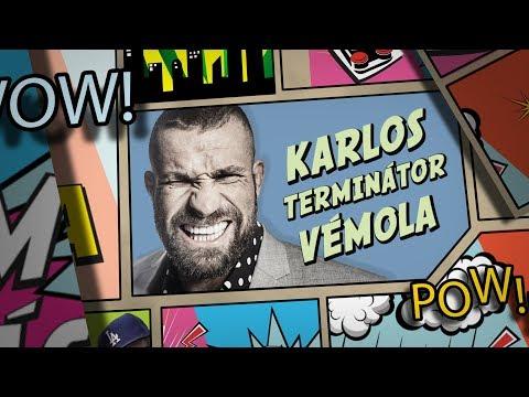 Level Lama vs Karlos Terminátor Vémola #lvl lama UFC 3