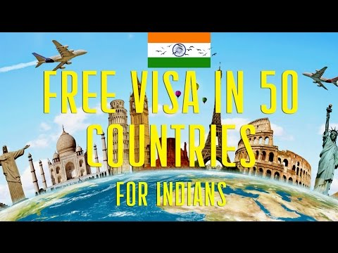 VISA free for Indians in 50 countries in the World thumbnail