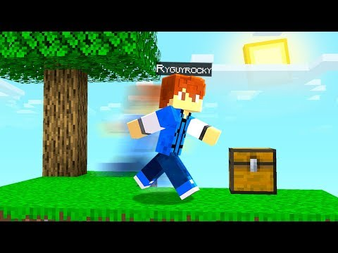 Playing Skyblock but Im 1000x faster