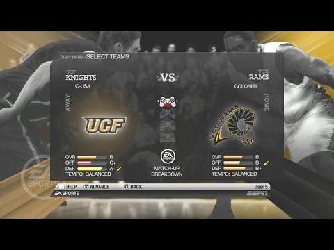 8 VCU vs  #9 UCF easports - full game | VCU Ram Nation