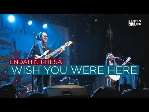 Endah N Rhesa - Wish You Were Here Live at Banten Indie Clothing