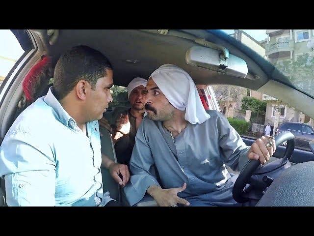 رد فعل الولد لما ركبوا صعايدة ليهم تار مع صاحب التاكسي 😂😳