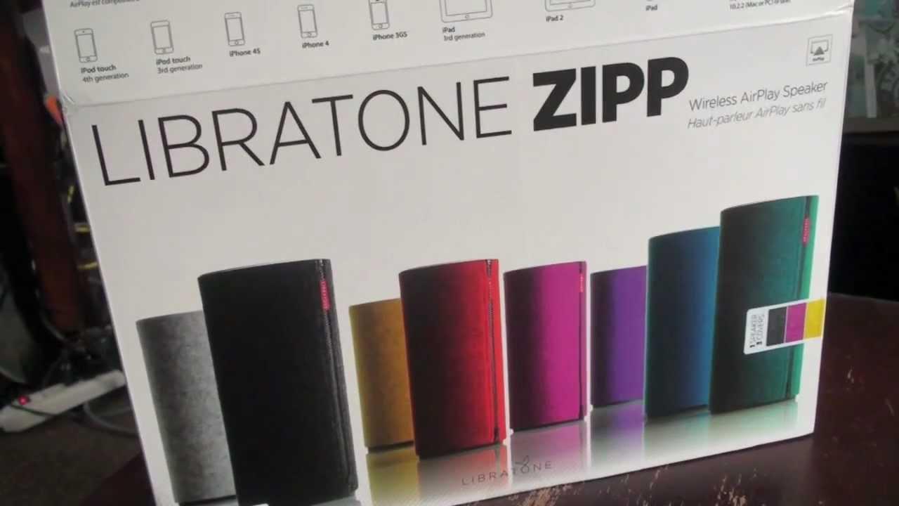 Libratone Classic Zipp Speaker (WiFi/Playdirect) Drivers for Windows