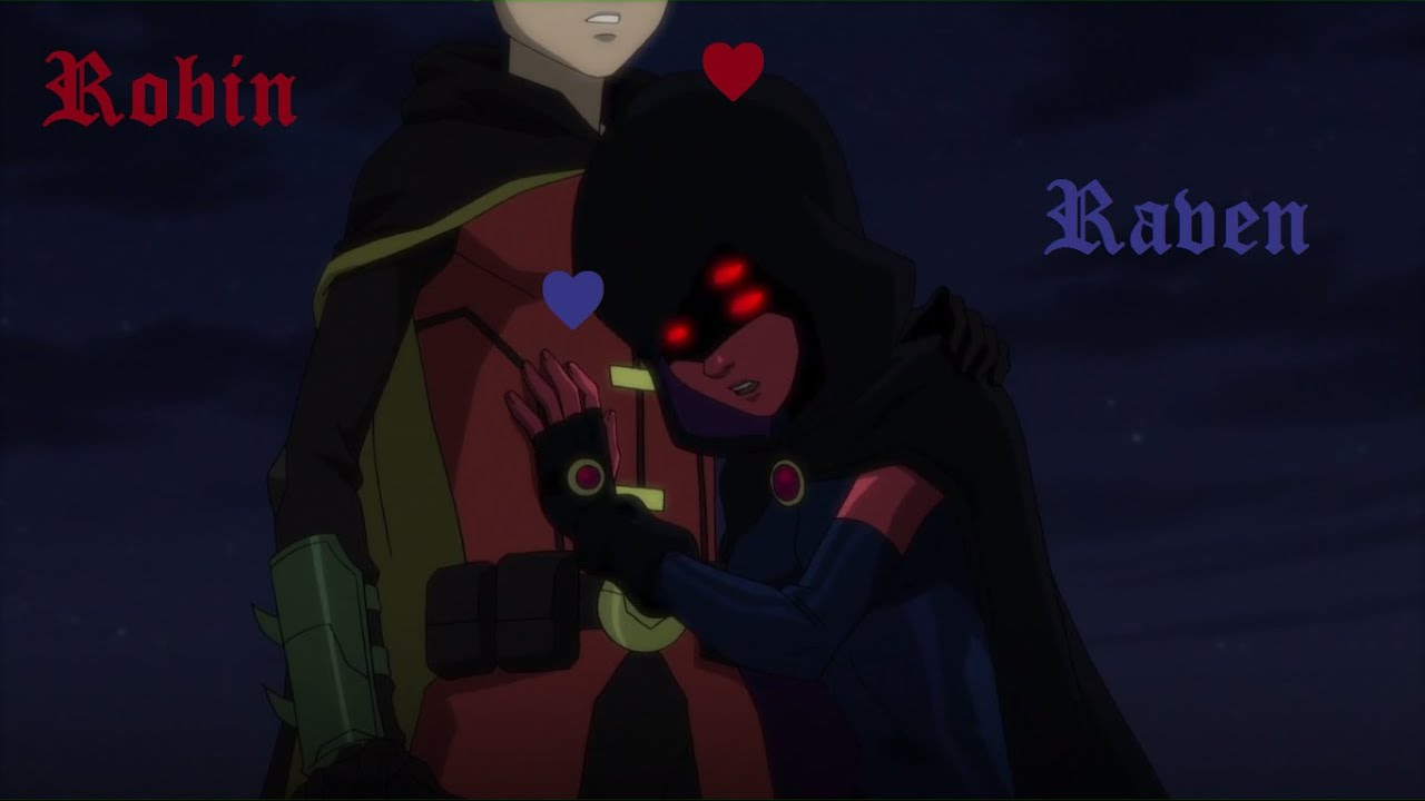robin and raven relationship
