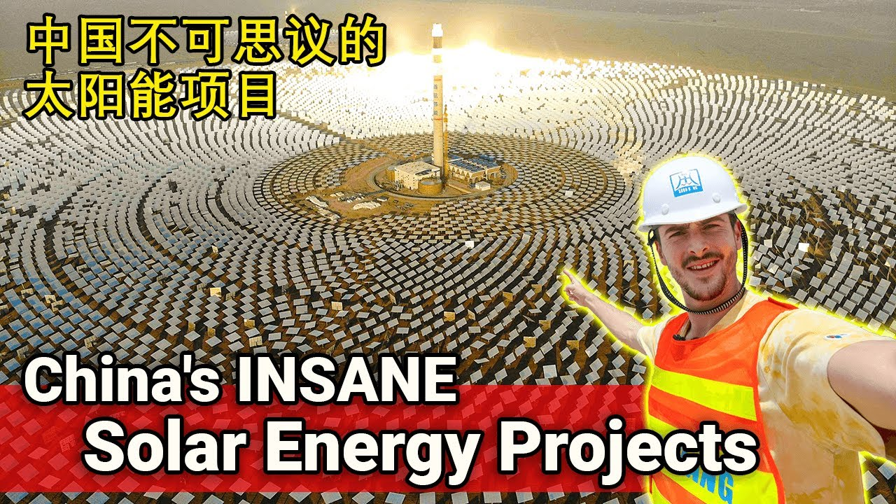 The BIGGEST Thermal Solar Farm on Planet EARTH...