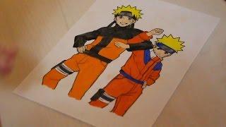 ASMR Naruto Shippuden Coloring Page | ASMR Soft Spoken and Pencil Sounds
