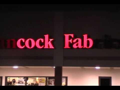 Hancock Fabrics Store Front Malfunction