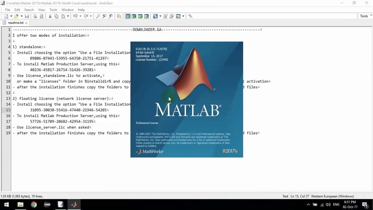 1  how to download  u0026 install matlab r 2017b free 100  working step by step computer vision