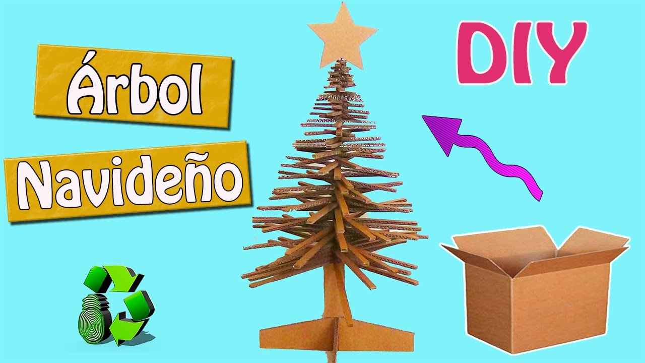 128 manualidades navide as arbol de navidad pino - Manualidades de arboles de navidad ...