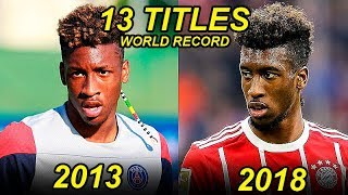 Kingsley Coman Evolution From 17 To 22 Years Old