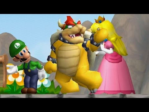 New Super Bowser Wii - Worlds 1 - 9 Full Game (1080p 60fps)