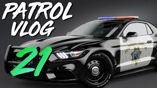 OFFICER RUSHED TO HOSPITAL (Virtual Ride Along Ep 21)