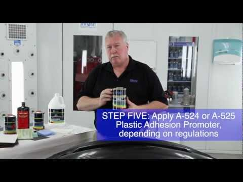 Collision Repair: How to Refinish Bumper Covers - NON-PRIMED or RAW