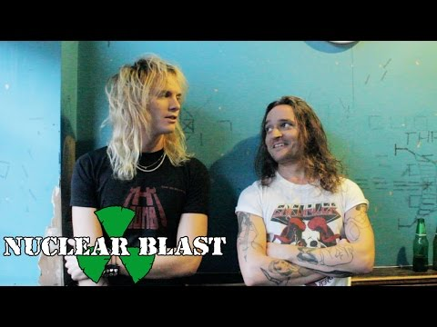 ENFORCER - Olof and Tobias talk about their favourite live shows (OFFICIAL INTERVIEW)