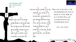 lisu song lyrics (YE-SU NV.; KW  -  GW-. W-NY A-WU)