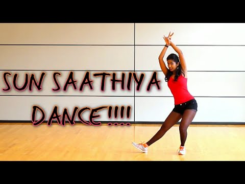 Sun Saathiya  || Original Dance Routine || Disney's ABCD 2 || Hip Hop
