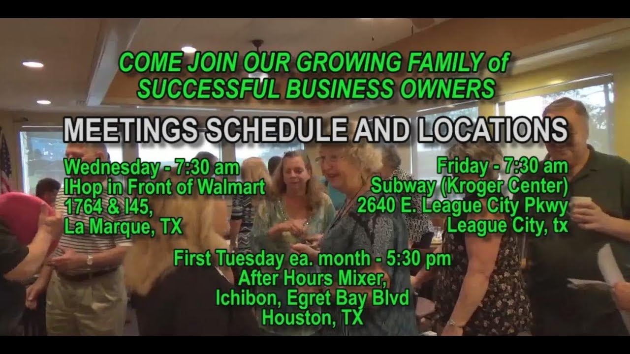 bang meet up networking group league city galveston houston tx grow your business