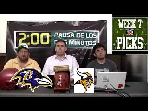 SEMANA 7 BALTIMORE RAVENS VS MINNESOTA VIKINGS