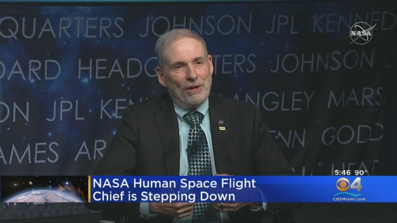 NASA Human Space Flight Chief Steps Down - CBS Miami
