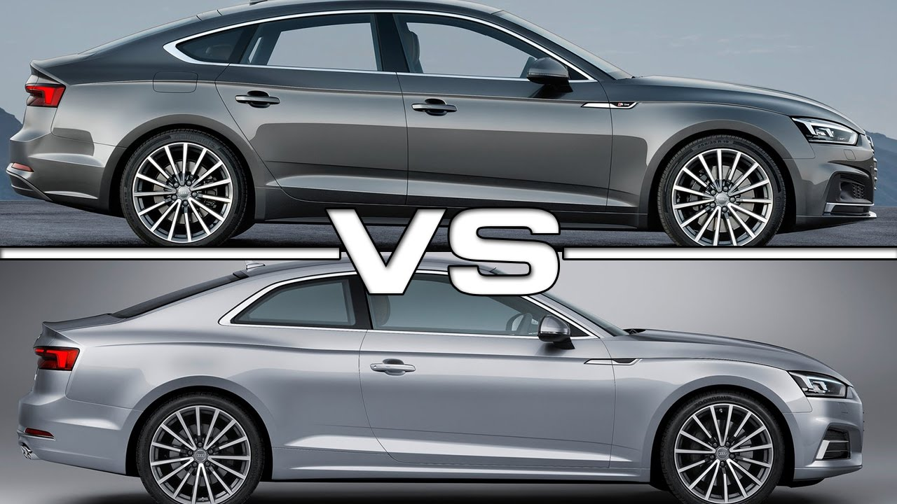 Audi A5 Sportback Vs Audi A5 Coupe Youtube