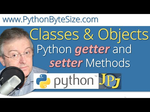Python getter and setter Methods