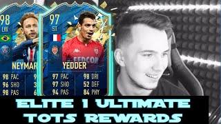 Crazy ELITE 1 ULTIMATE TOTS REWARDS! | FIFA 20 CZ/SK