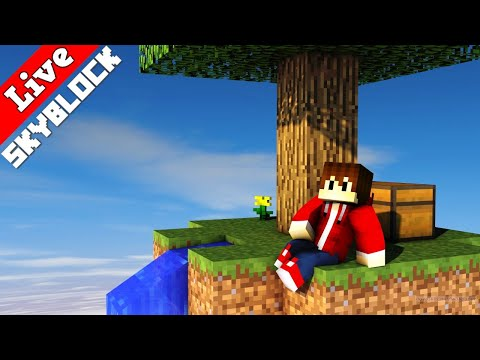 Minecraft Skyblock Livestream   LarsLP Live