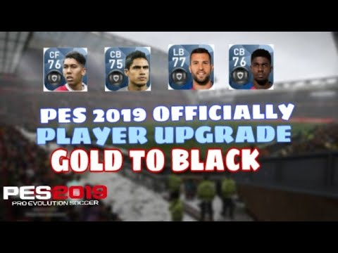 Gold To Black Update in Pes 2019 Mobile ll - Most Popular Videos