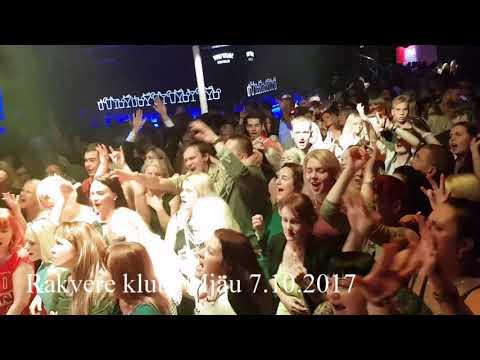 ruki vverh Live  Rakvere  KLUBi  mjau 7 10 2017