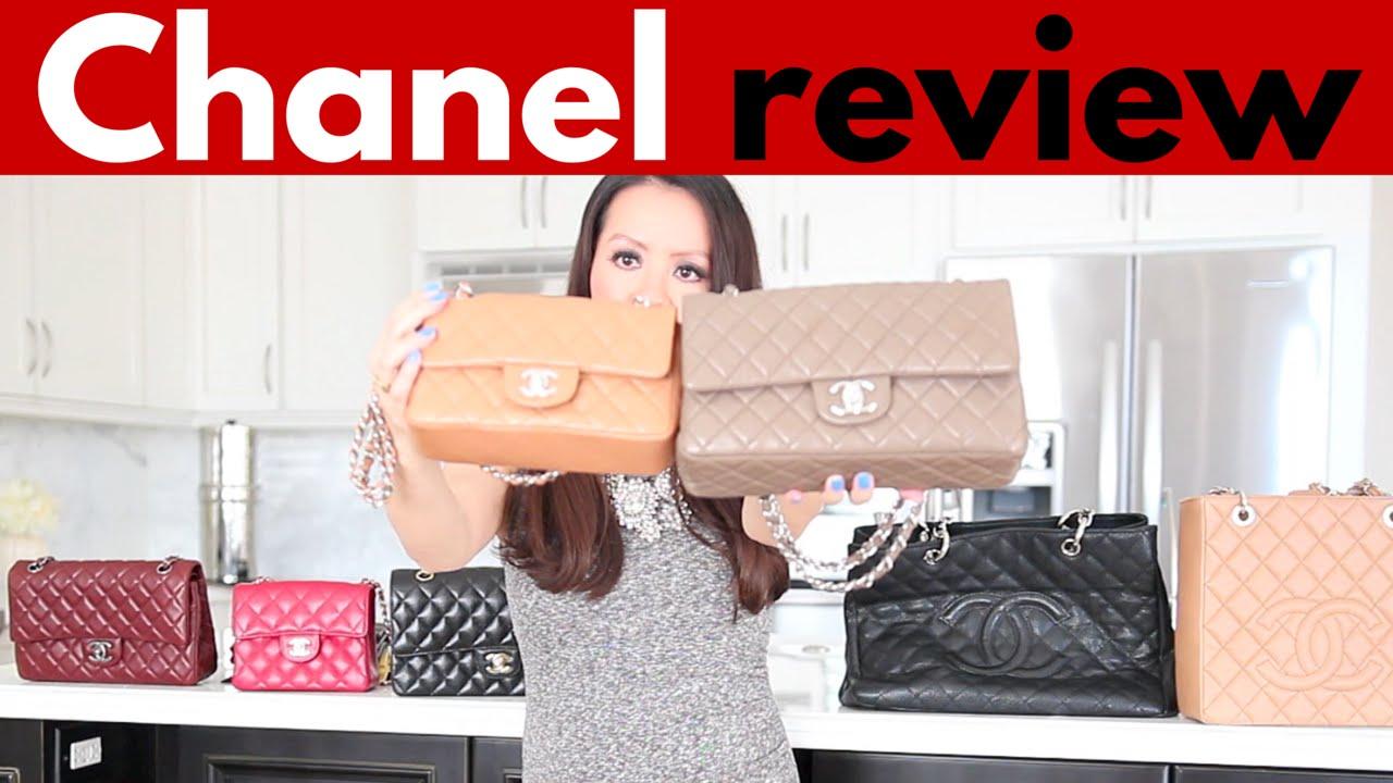 e9752e881f5e 2018 - Chanel purse reviews and handbag collection - YouTube