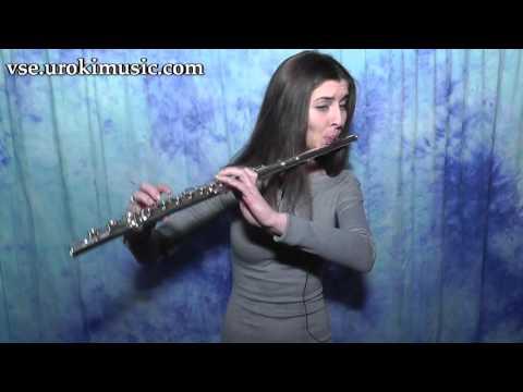 Как играть на Флейте Major Lazer  Lean On самоучитель уроки обучение ноты школа курсы