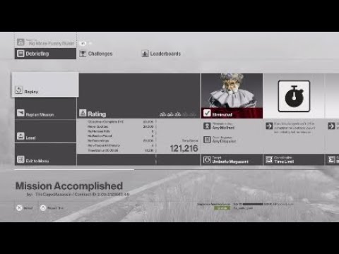Hitman| Contract: No more funny business (Simple)