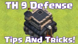 Clash Of Clans Townhall 9 Defense Base Tips And Tricks | Clash Of Clans TownHall 9 Farming Base