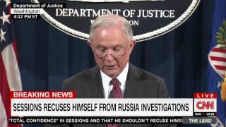 Sessions announces recusal