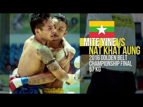 Mite Yine vs Nat Khat Aung, Myanmar Lethwei Fight, Lekkha Moun, Burmese Boxing