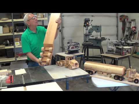 Video # 3 Wooden Toy Replicas (tractor trailer unit)