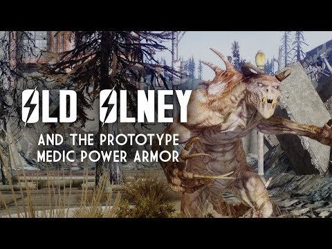 Old Olney and the Prototype Medic Power Armor (Before Broken Steel) - Fallout 3 Lore