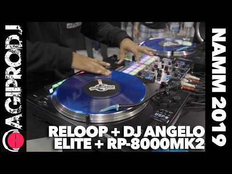 RELOOP ELITE + RP-8000MK2 DJ Angelo Feature Spotlight - NAMM 2019   agiprodj.com