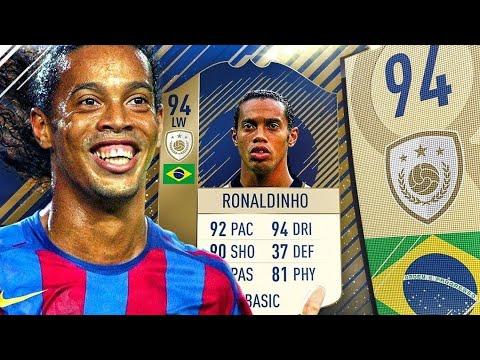 RONALDINHO GAUCHO 94!!!! POTENZA ALLO STATO PURO!!!! - Fifa 18 Ultimate Team
