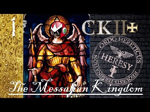 Crusader Kings 2 Reaper's Due | CK2+ Mod | Messalian Heresy Inbreeding | Part 1