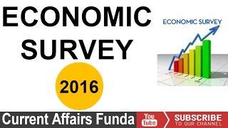 Economic survey 2015-16