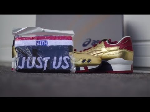 KFE Kith Football Equipment Gel Lyte 3 Detailed Look!