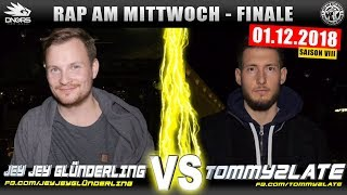 RAP AM MITTWOCH FRANKFURT: JEY JEY vs TOMMY2LATE 01.12.17 BattleMania Finale (4/4) GERMAN BATTLE