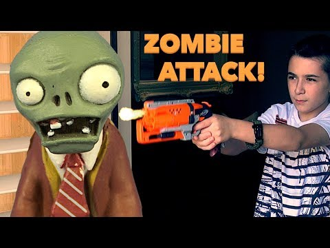 Thumbnail: Nerf War: Zombie Attack Around The House -Part1!