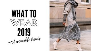Top Wearable Fashion Trends 2019   How To Style